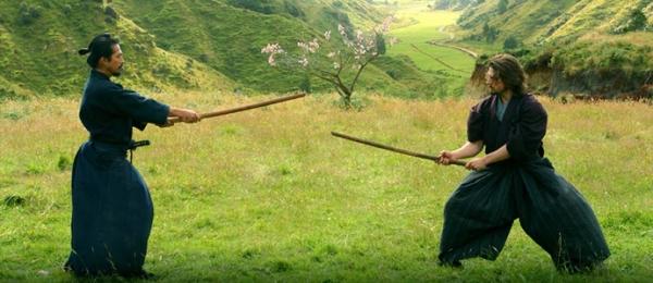 luta com bastão